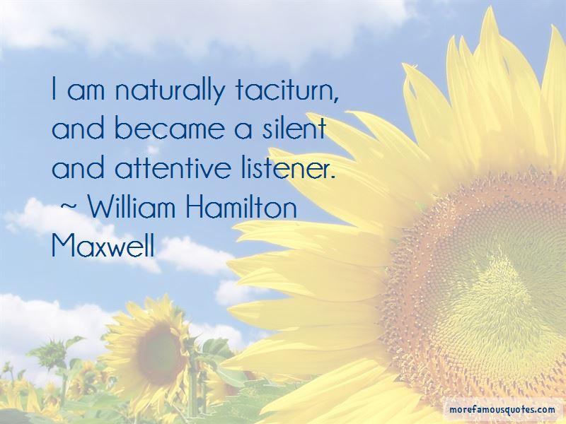 William Hamilton Maxwell Quotes Pictures 3