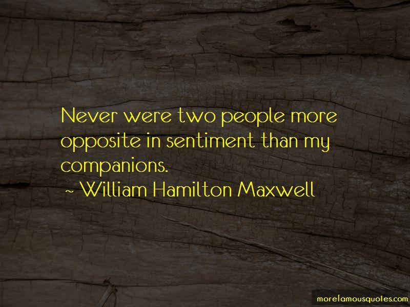William Hamilton Maxwell Quotes Pictures 4