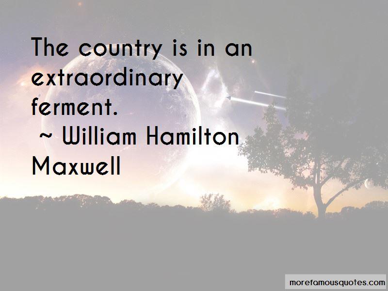 William Hamilton Maxwell Quotes
