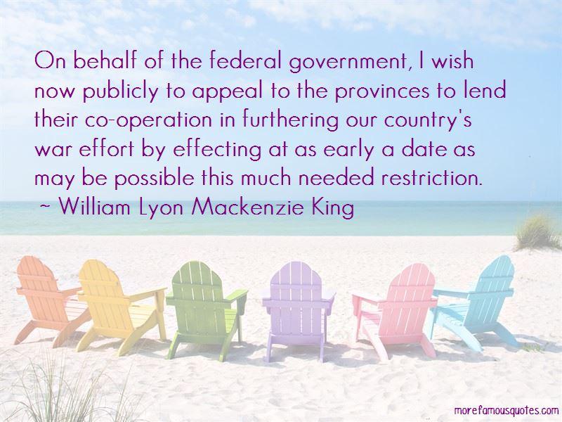 William Lyon Mackenzie King Quotes Pictures 4