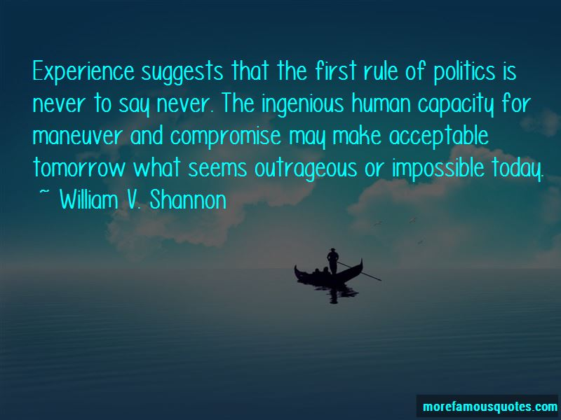 William V. Shannon Quotes