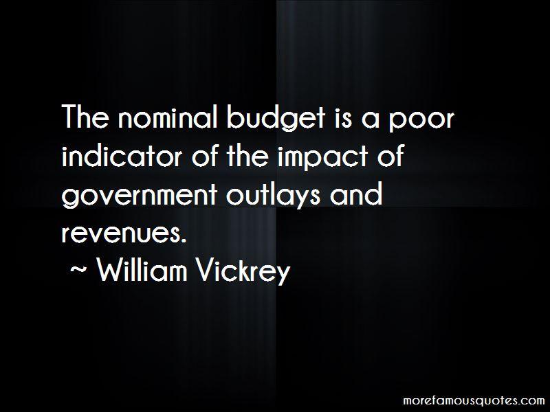 William Vickrey Quotes Pictures 4