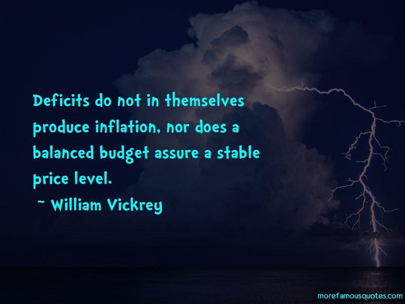 William Vickrey Quotes