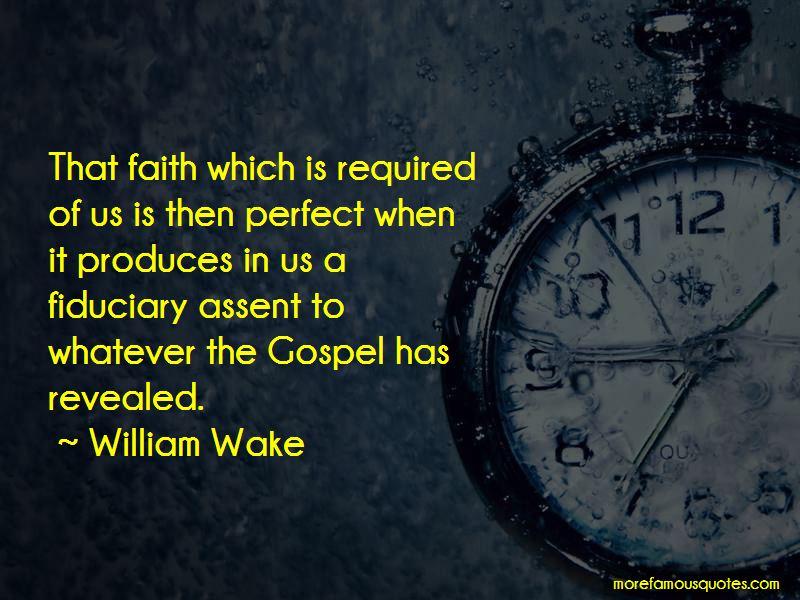 William Wake Quotes