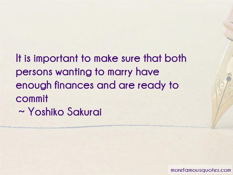 Yoshiko Sakurai Quotes Pictures 2