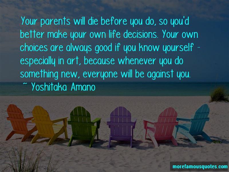 Yoshitaka Amano Quotes