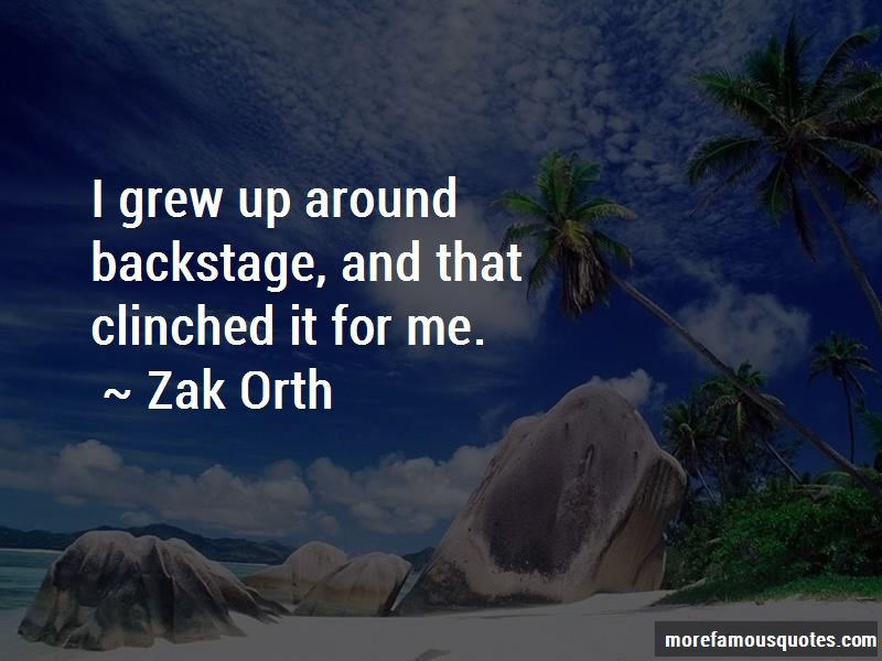 Zak Orth Quotes Pictures 2
