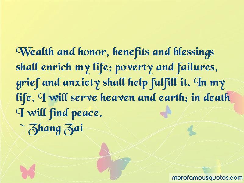 Zhang Zai Quotes