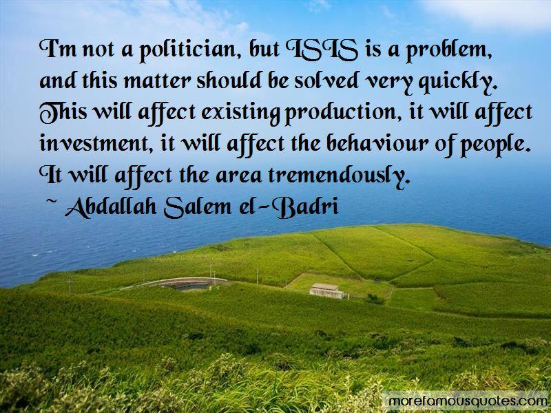 Abdallah Salem El-Badri Quotes Pictures 2