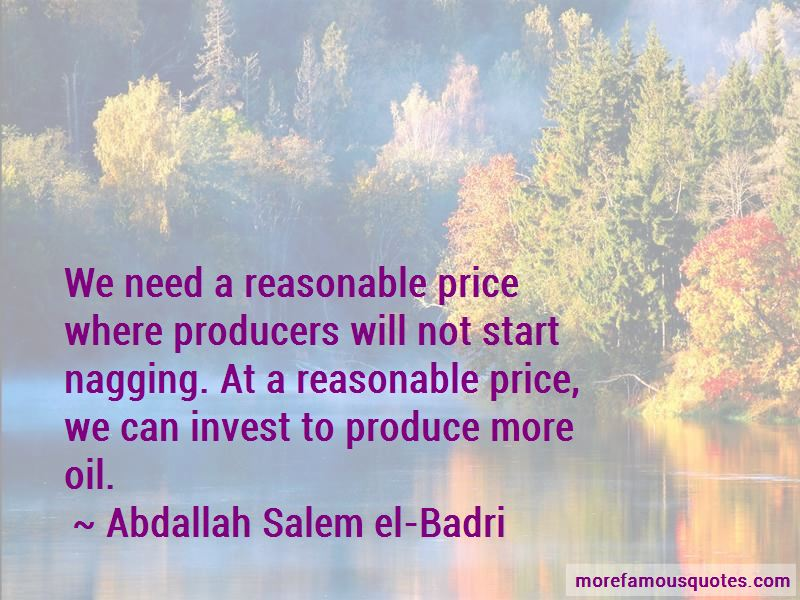Abdallah Salem El-Badri Quotes