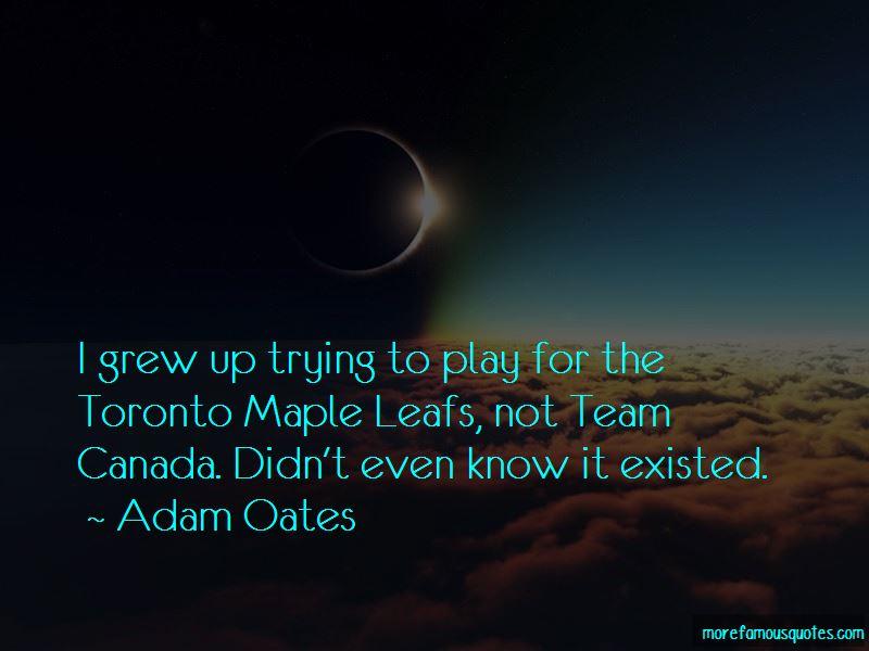 Adam Oates Quotes