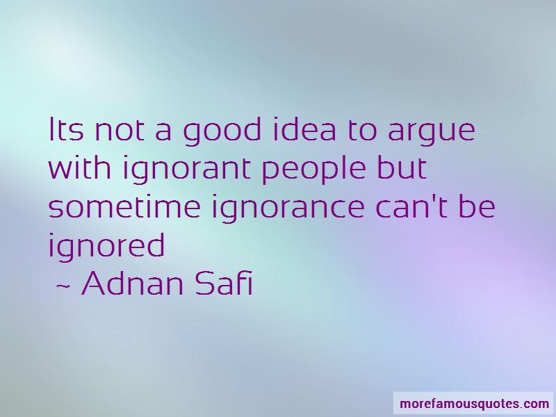 Adnan Safi Quotes
