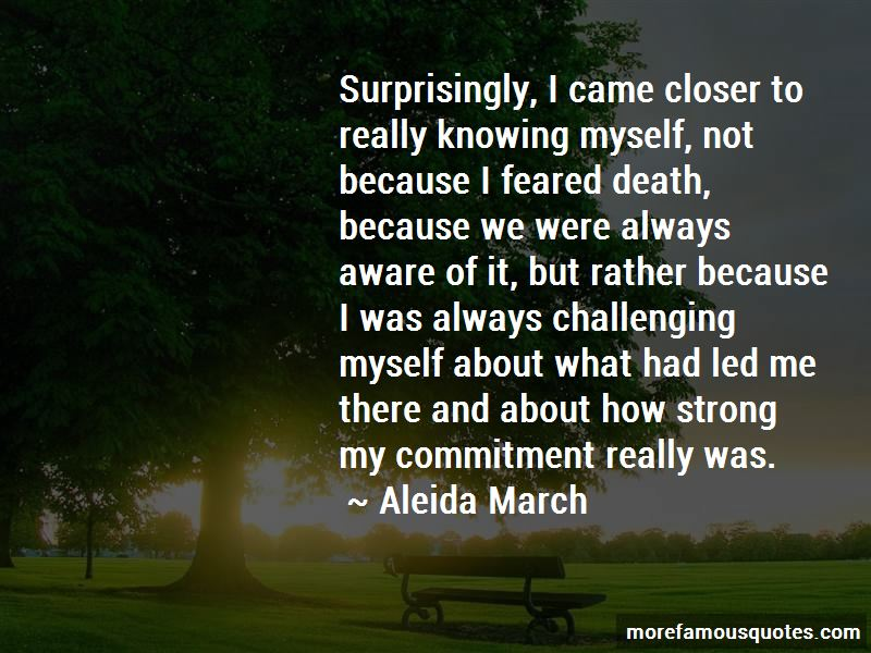 Aleida March Quotes