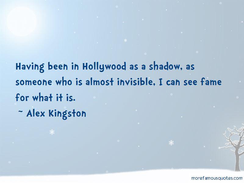 Alex Kingston Quotes Pictures 2
