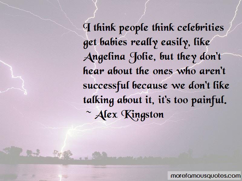Alex Kingston Quotes Pictures 4