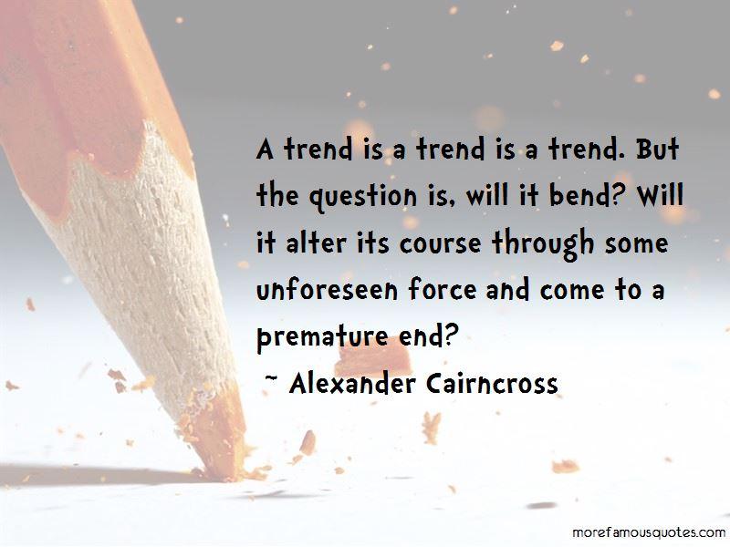 Alexander Cairncross Quotes