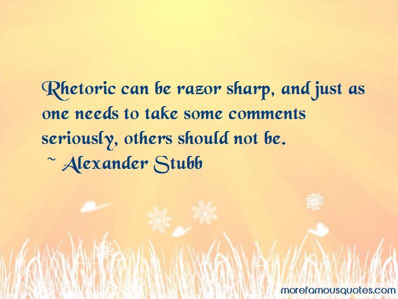 Alexander Stubb Quotes