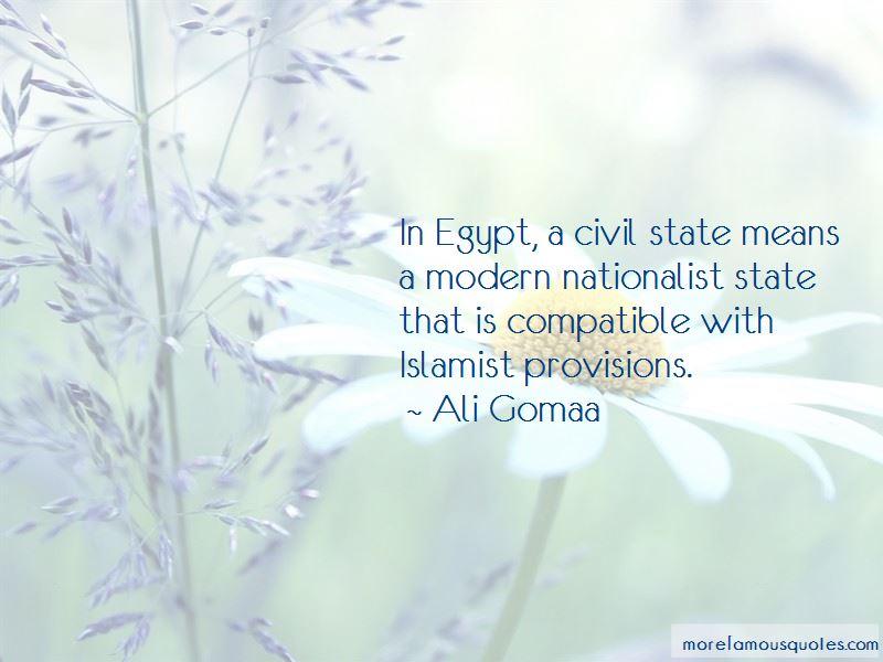 Ali Gomaa Quotes