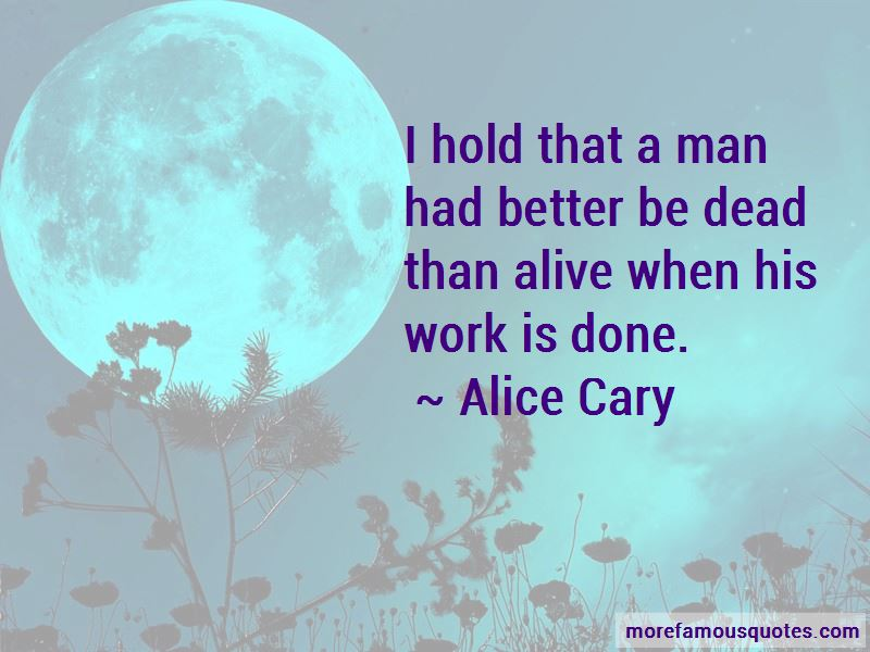 Alice Cary Quotes Pictures 3
