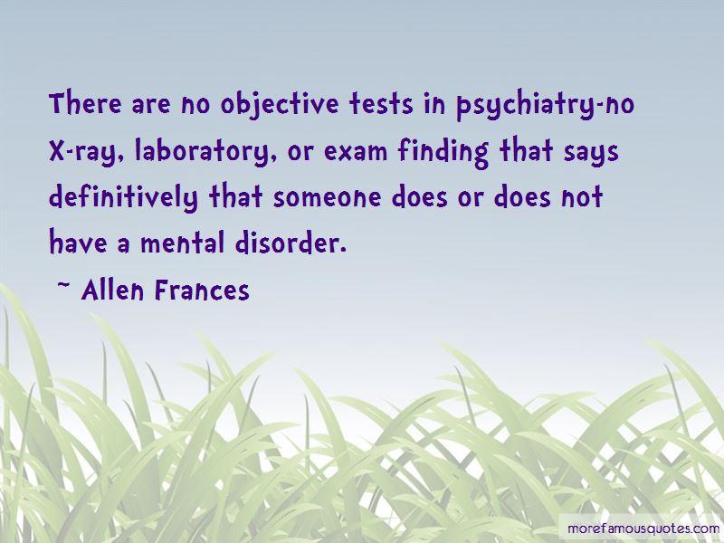 Allen Frances Quotes Pictures 2