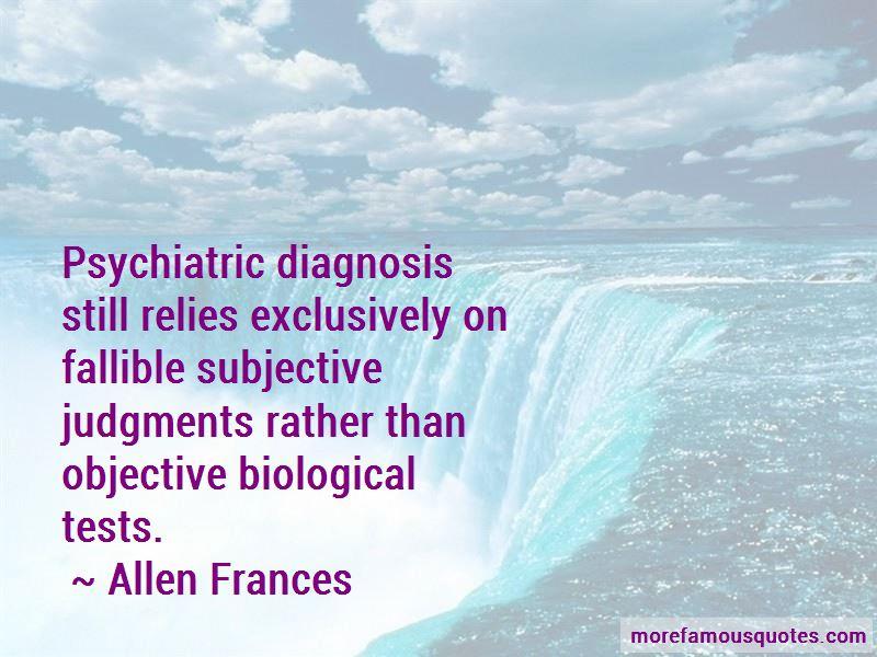 Allen Frances Quotes Pictures 3