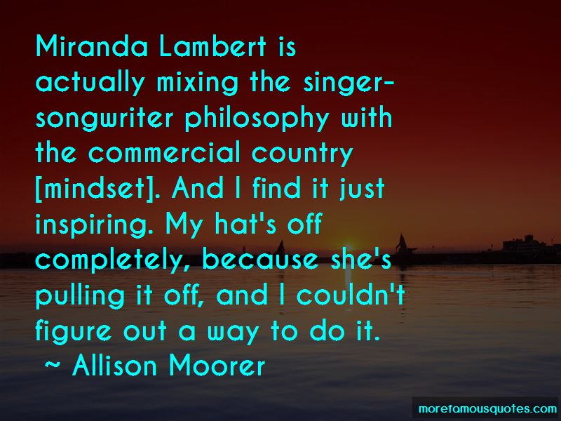 Allison Moorer Quotes Pictures 2