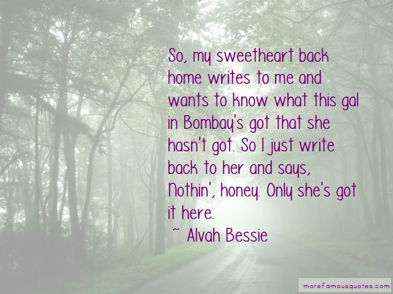 Alvah Bessie Quotes Pictures 2