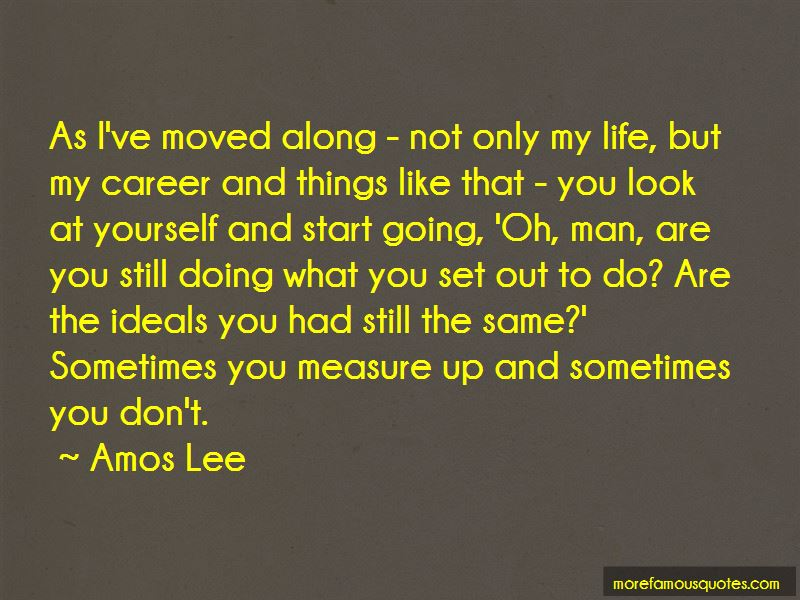Amos Lee Quotes Pictures 2