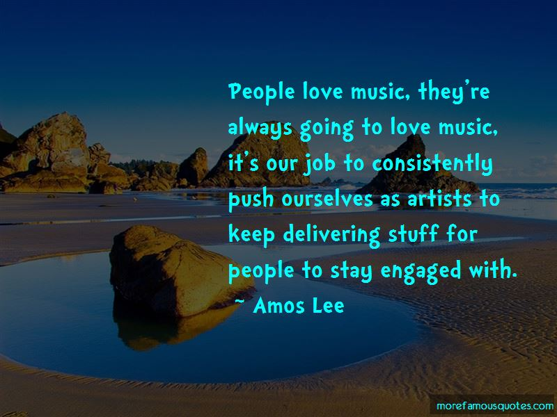 Amos Lee Quotes Pictures 3