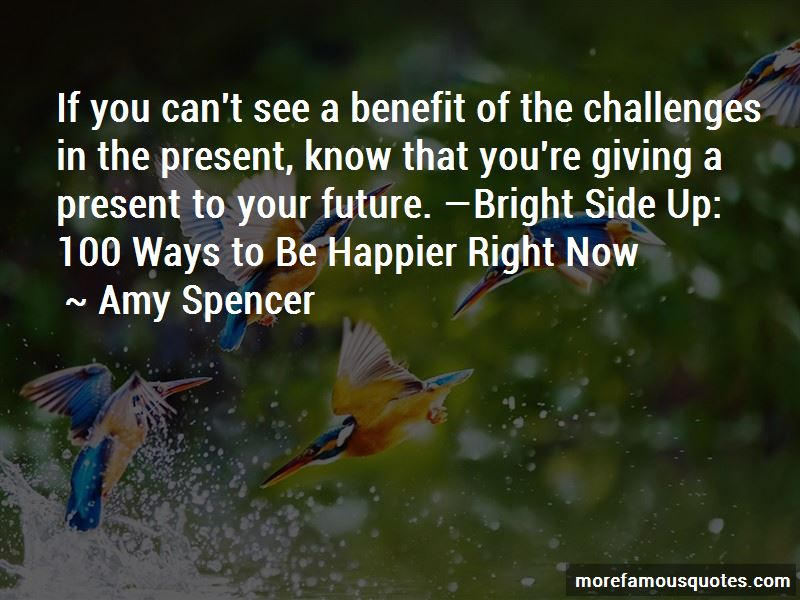 Amy Spencer Quotes