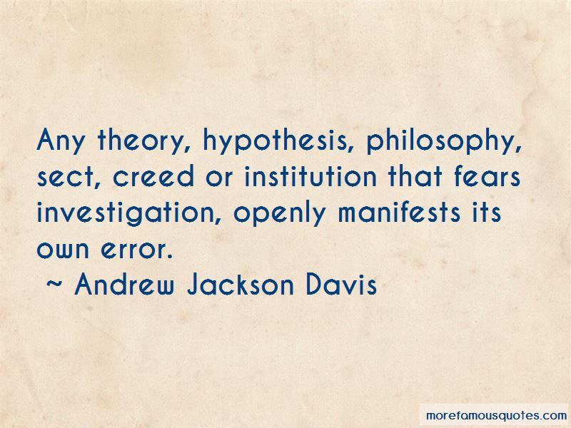Andrew Jackson Davis Quotes
