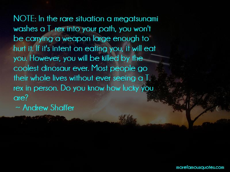Andrew Shaffer Quotes