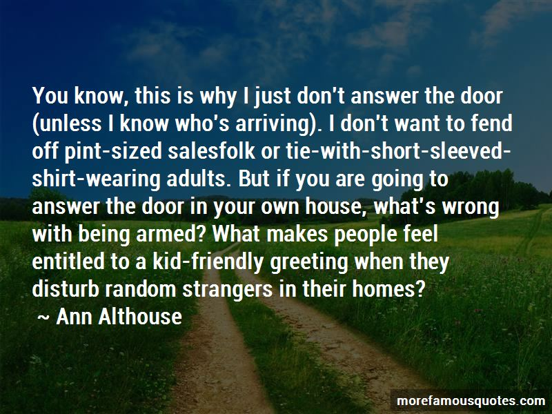Ann Althouse Quotes