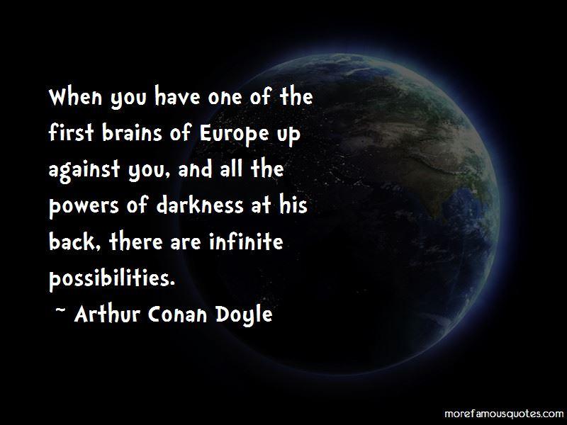 Arthur Conan Doyle Quotes Pictures 2