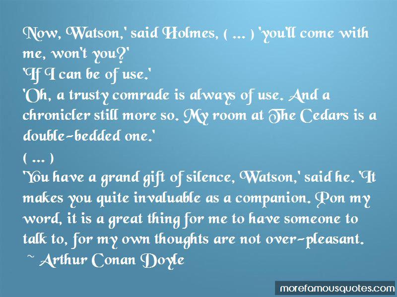 Arthur Conan Doyle Quotes Pictures 4