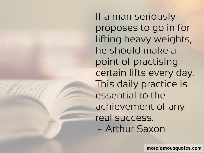 Arthur Saxon Quotes Pictures 2