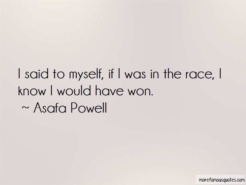 Asafa Powell Quotes Pictures 2