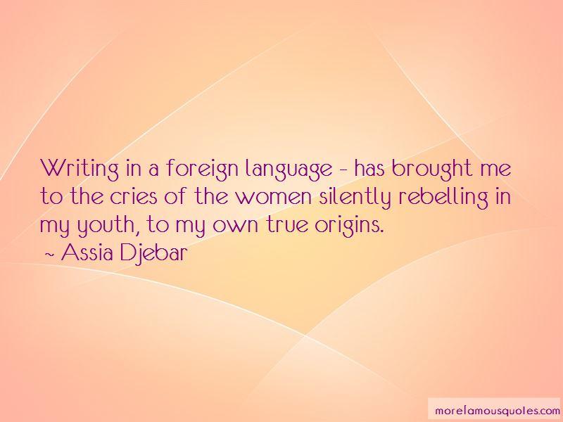 Assia Djebar Quotes