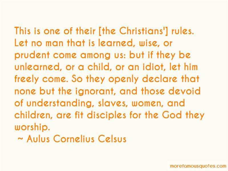 Aulus Cornelius Celsus Quotes Pictures 3
