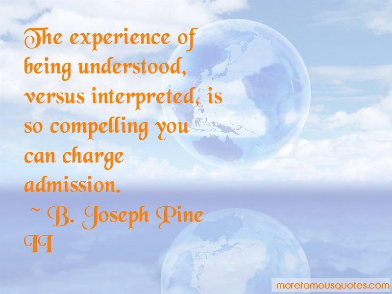 B. Joseph Pine II Quotes Pictures 2