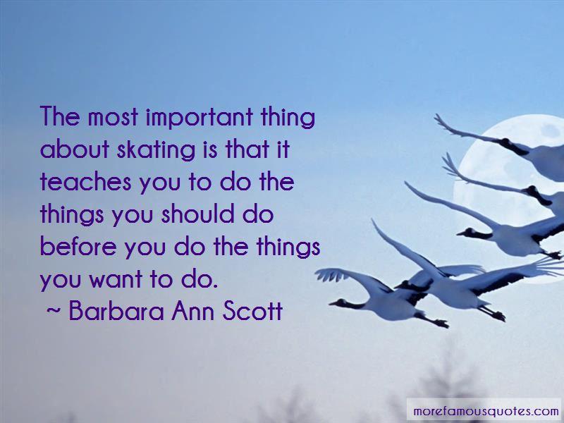 Barbara Ann Scott Quotes Pictures 2