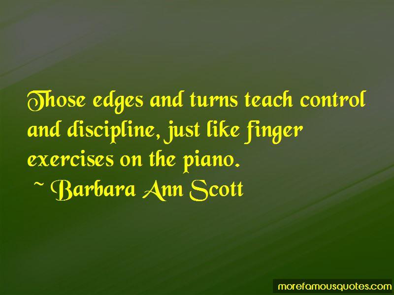 Barbara Ann Scott Quotes