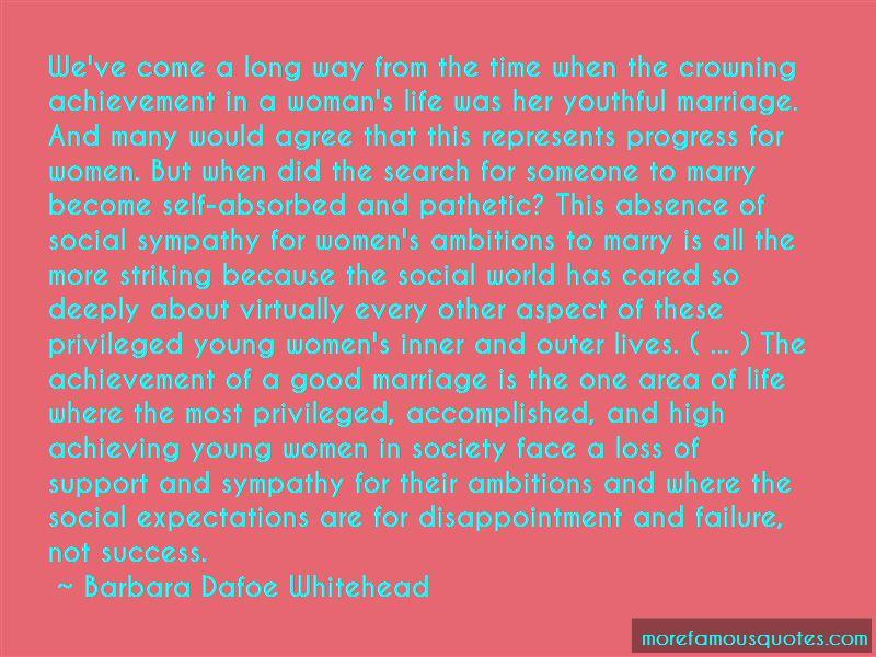 Barbara Dafoe Whitehead Quotes Pictures 2