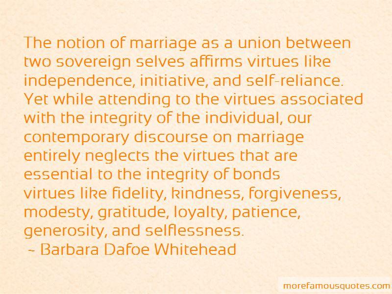 Barbara Dafoe Whitehead Quotes