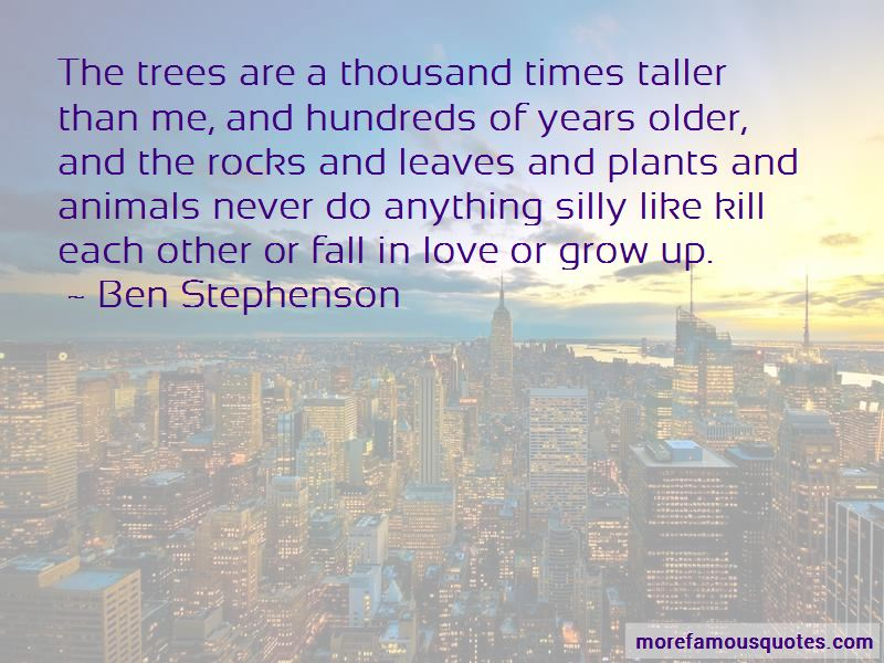 Ben Stephenson Quotes Pictures 2