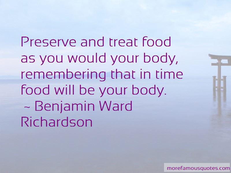 Benjamin Ward Richardson Quotes