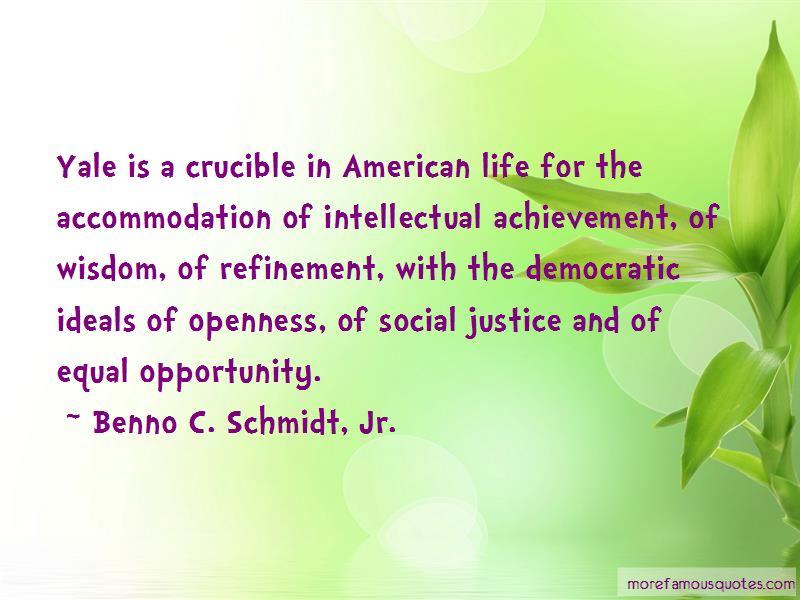 Benno C. Schmidt, Jr. Quotes Pictures 2