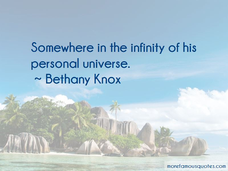 Bethany Knox Quotes Pictures 2