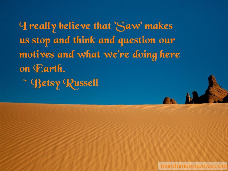 Betsy Russell Quotes