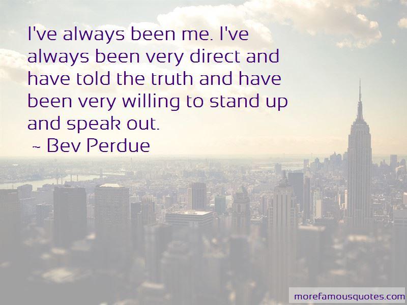 Bev Perdue Quotes